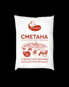 Agromol_Smetana_20%_200_Paket