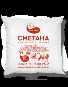Agromol_Smetana_20%_380_Paket